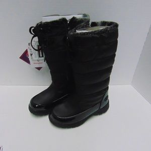 Totes Girls Hollie Waterproof Snow Boots Sz 2M